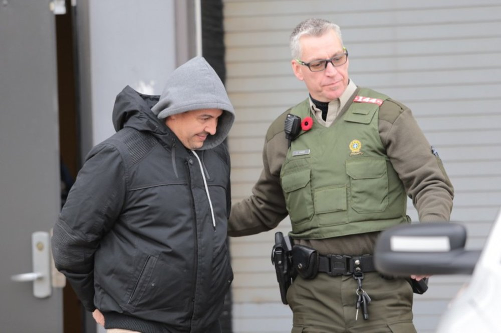 Richard Vallières Arrest