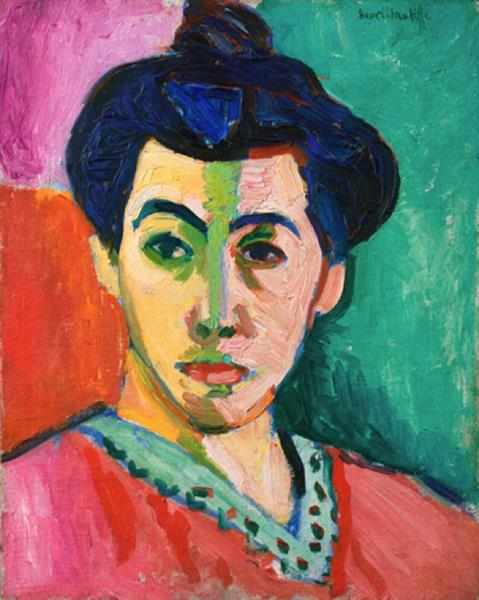 Henri Matisse ,  The Green Line , 1905