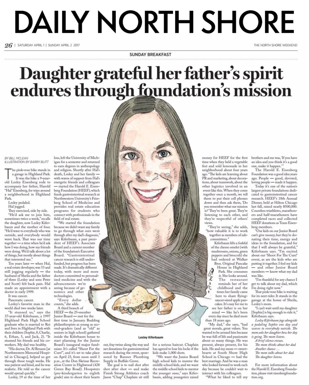Lesley Kiferbaum, Founding Member, Harold E. Eisenberg Foundation