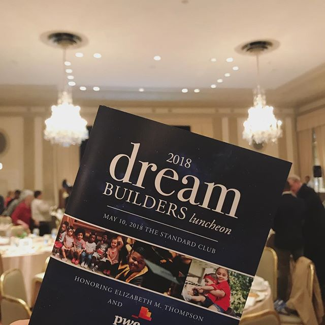 Today was the @chicagochildcaresociety #DreamBuilders luncheon! We had a great time working on such an inspirational and powerful event. #CCCS #PRforGood