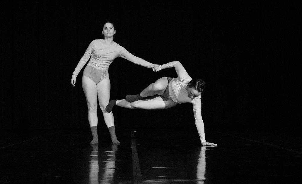 Sierra Serban and Amelia Taylor in Lackless by Steve Disenhof