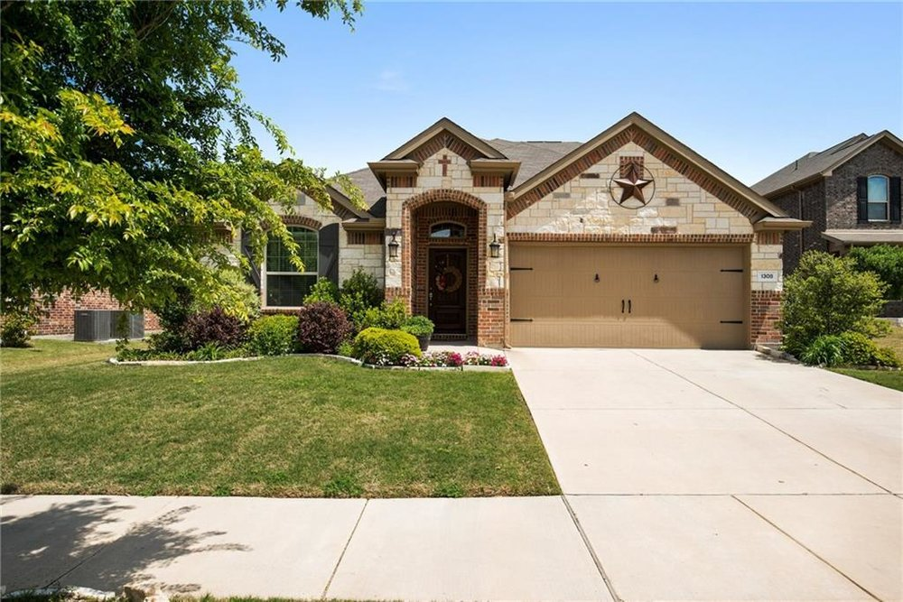 1308 Corona Court - Our Out-of-State Investor was seeking equity growth with a holding period of 3-5 yrs. Our team focused on finding newer builds in North Dallas areas to also keep Capital Expenses negligible. After 2 months of extensive search and several offers a 2014 built move-in-ready home was Secured. The house was leased with Positive Cash Flow and Multi Year lease within a week of Closing !!
