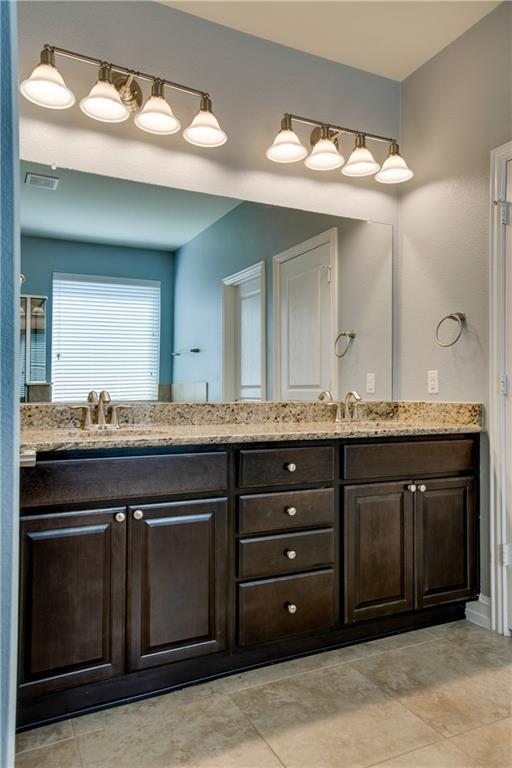 Master Bathroom w Granite