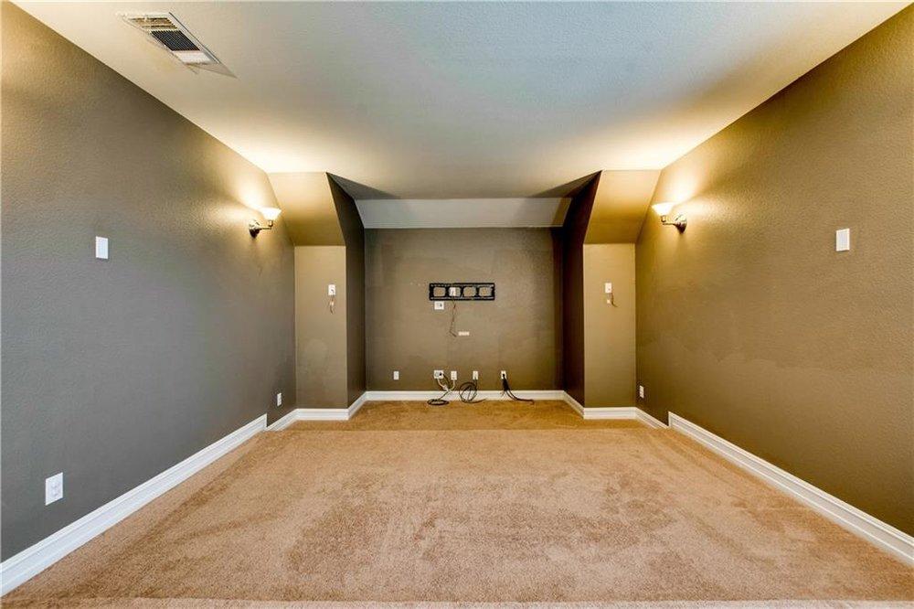 Upstairs Media Room