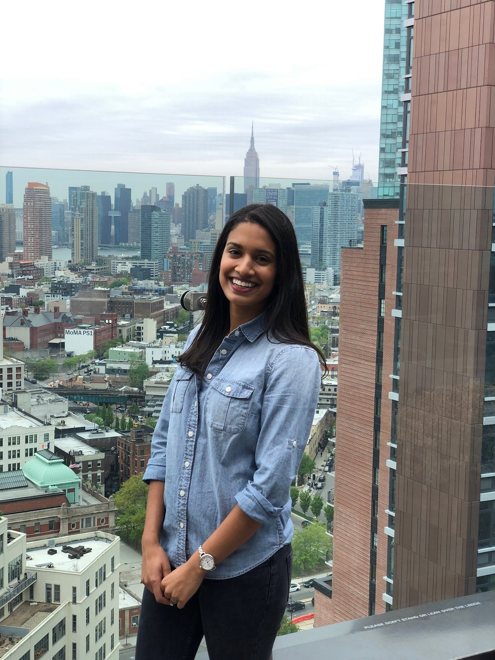 Andrea - New Yorker, born and bred but of Indian descent.Works in sales in the financial services industry.Loves dinner parties (as host or guest), street food, and live music.