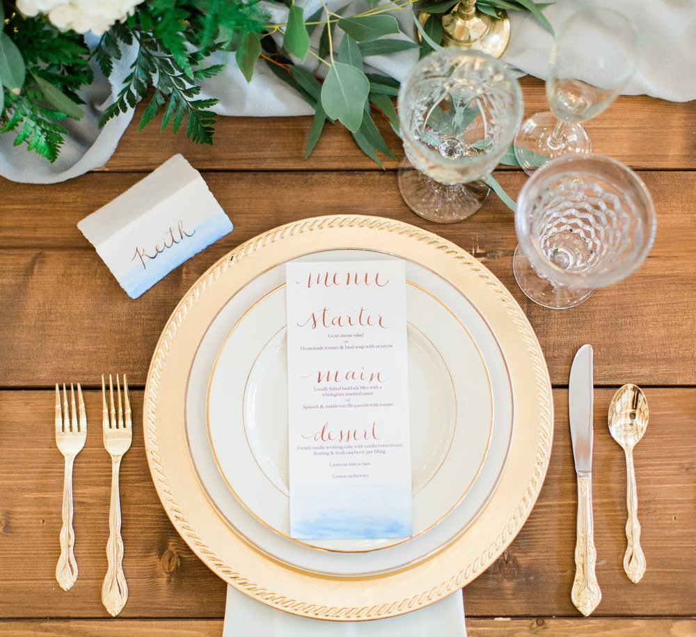 Photography | Belen Isabel Photography  Planning & Styling | To Be Loved Events & Anela Events  Rentals | Moxie Events, Danner & Soli & Glass Slipper Rentals  Floral Design | Flowers & Thyme  Table Runner | Tono & Co.  Calligraphy | To Be Loved Events