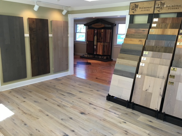 Oversized samples are the best way to see how specific woods will look in your home.