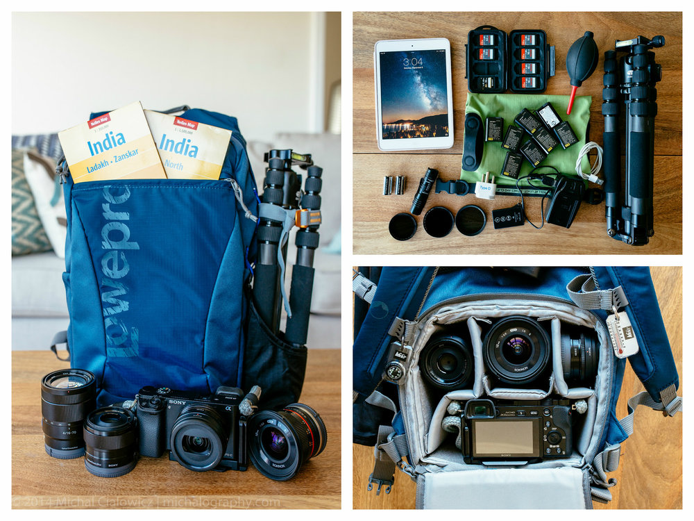 A6000 Travel Kit