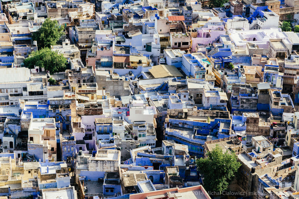 Blue City, Jodhpur, India (Sony A6000 + 16-70mm f/4 OSS)