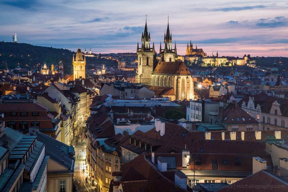 Prague, from Prašná Brána (Sony A6000 + 16-70mm f/4)