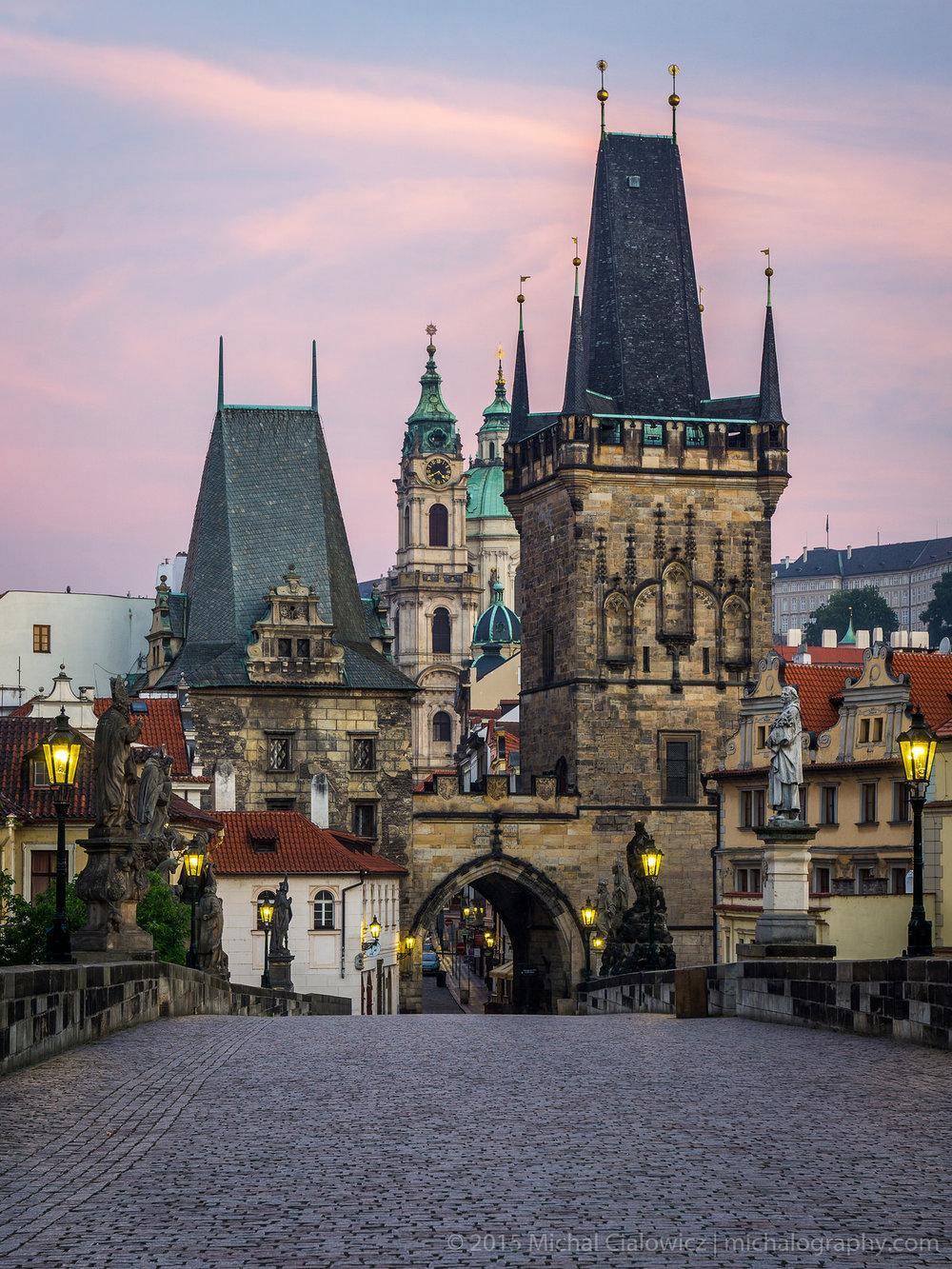 Prague at Dawn (Sony A6000 + 16-70mm f/4)