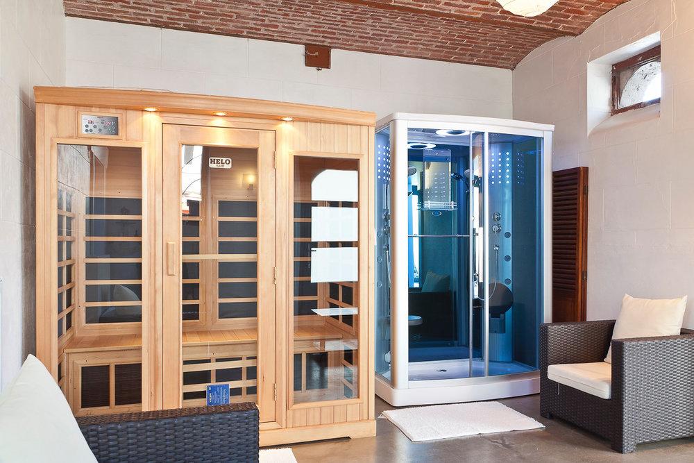 Sauna & Hammam - Om heerlijk te ontspannen.