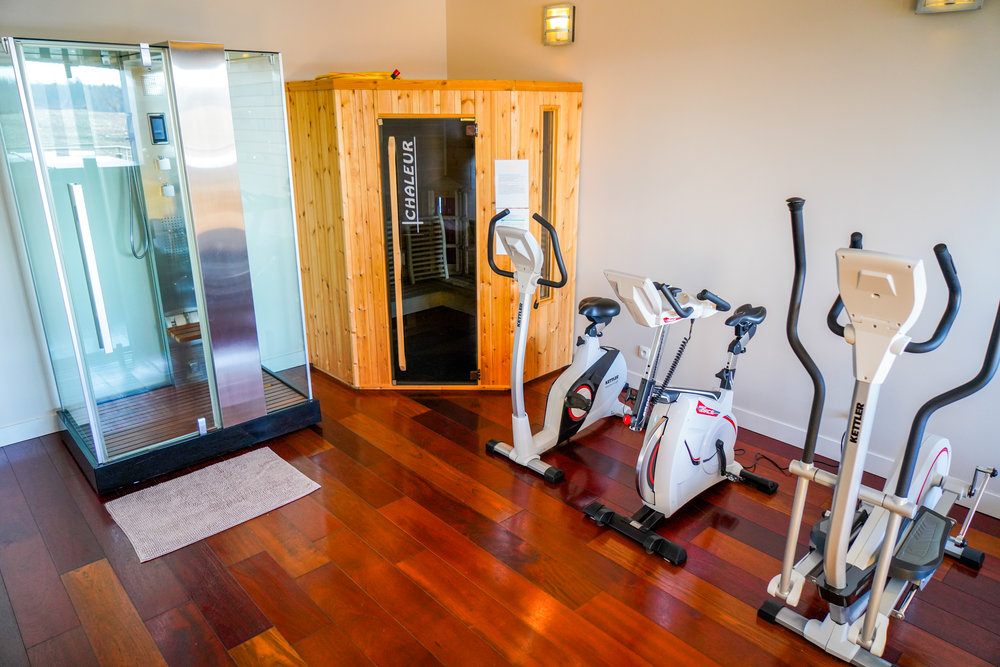 Fitness  - Equipped with top of the line equipment.