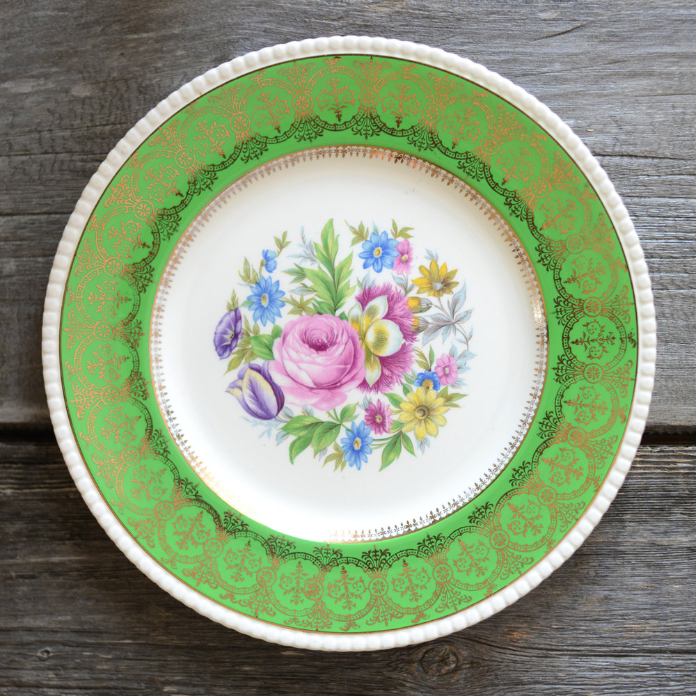 cobridge dinner plate - Green