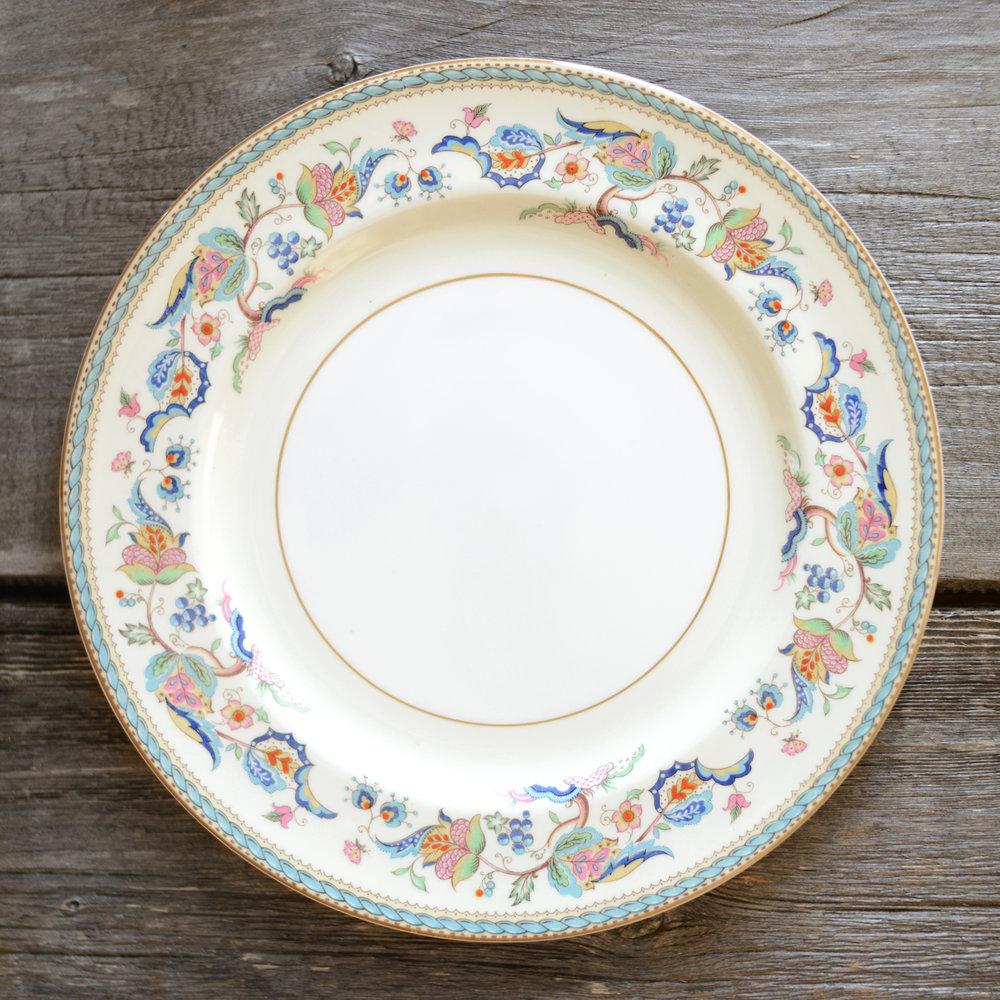 jukes dinner plate