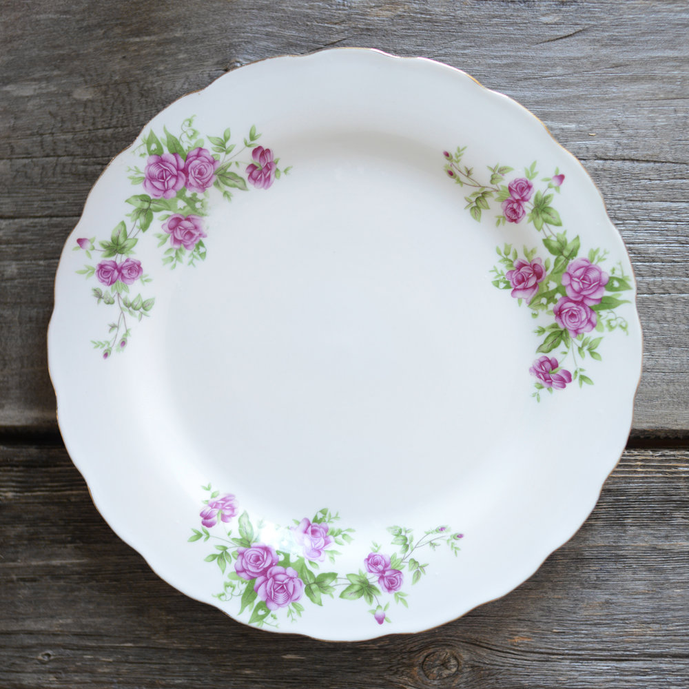 massey dinner plate - 3 available