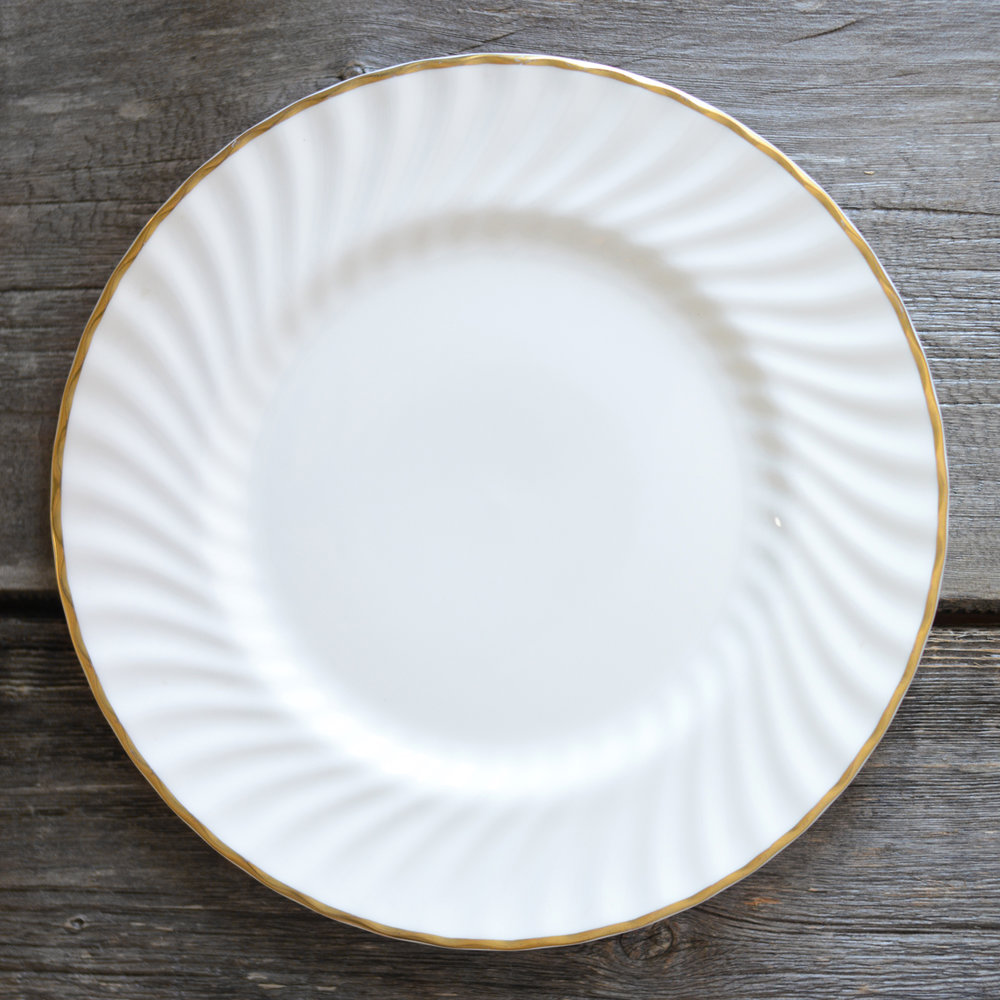 pemble dinner plate - 2 available