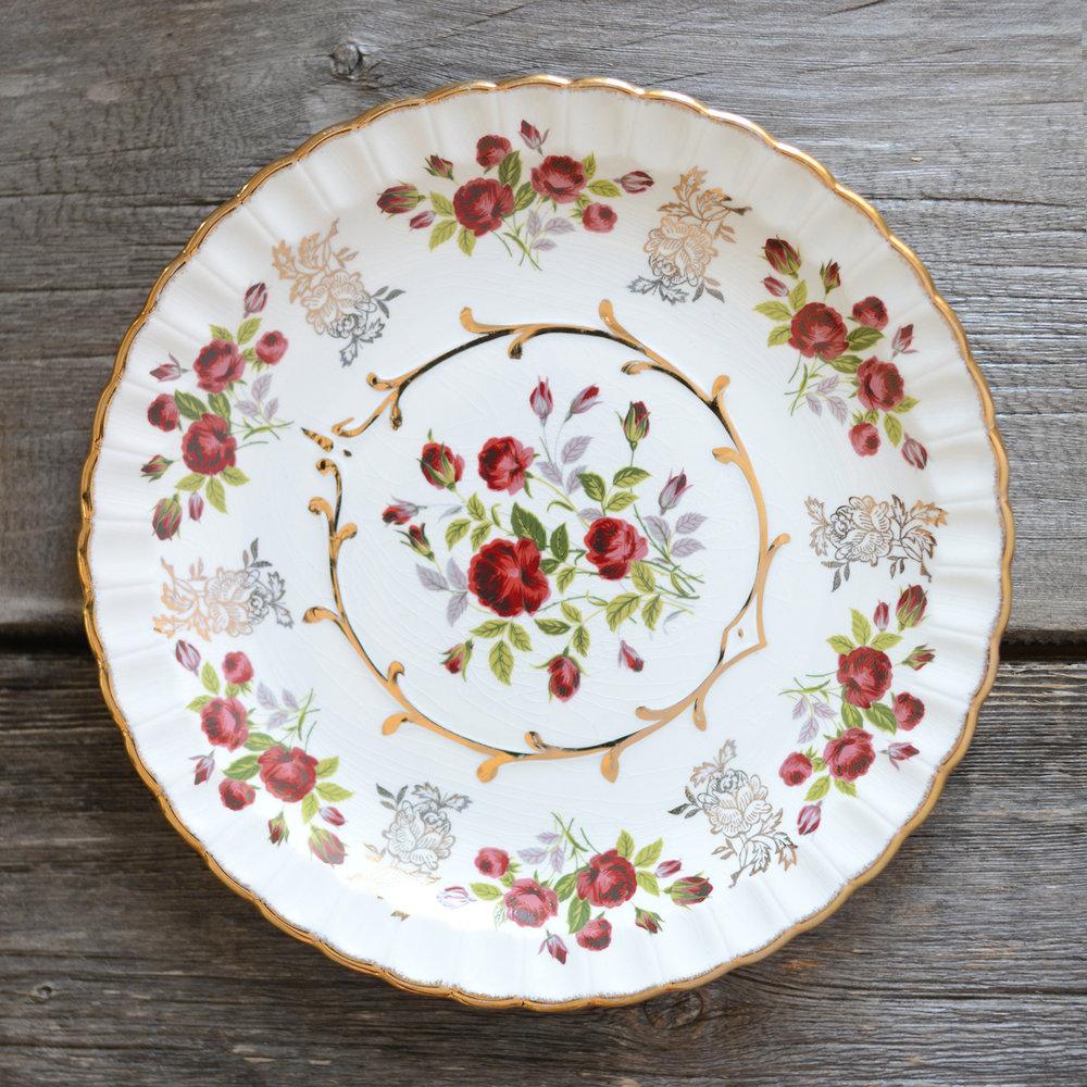 ruby dinner plate