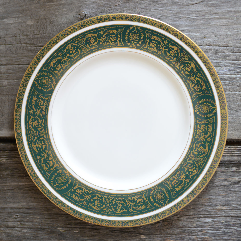 vanborough dinner plate - 2 available