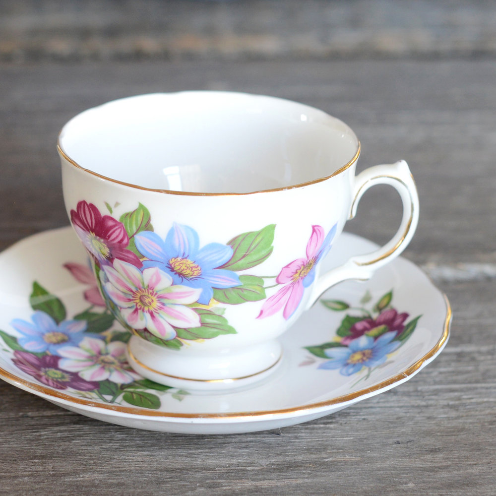 cantor tea cup and saucer