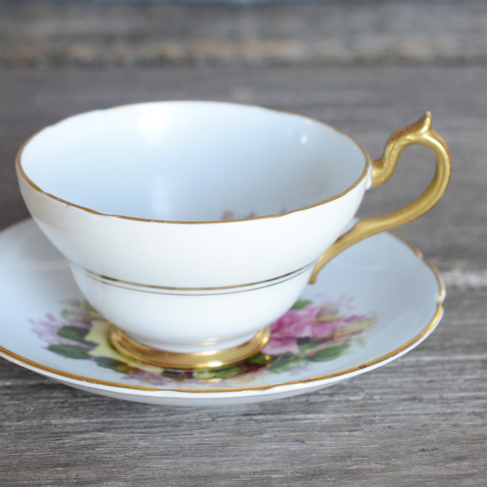 langford tea cup and saucer