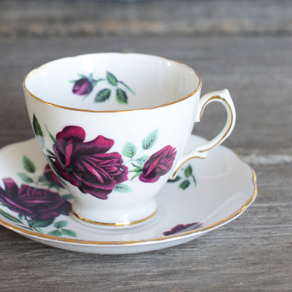 lauder tea cup and saucer