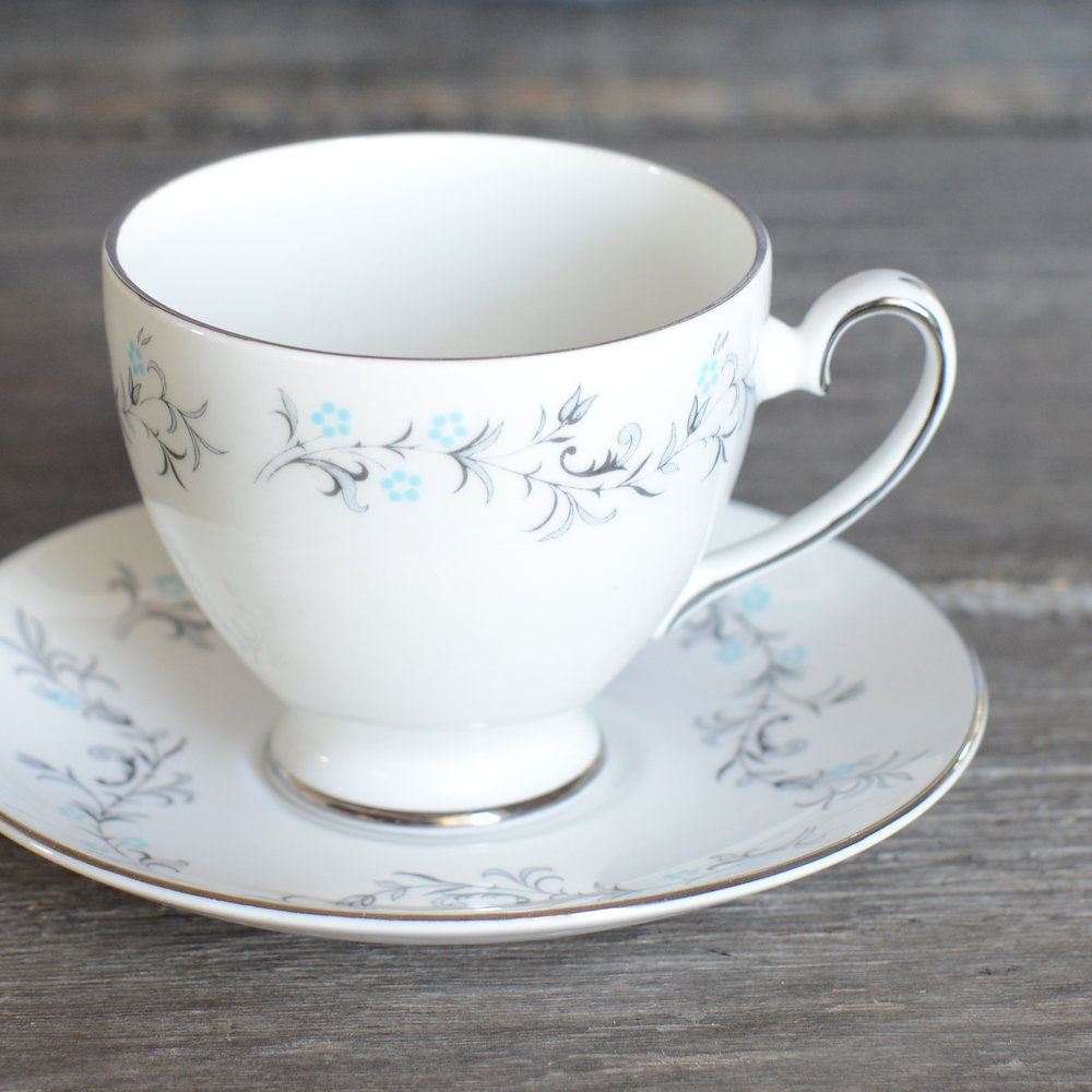 mandle tea cup and saucer