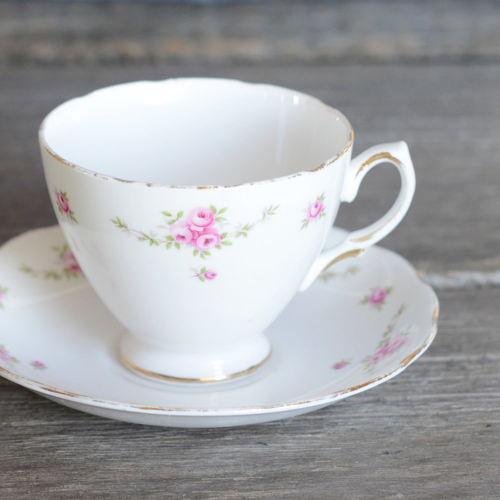 osborne tea cup and saucer - 3 available