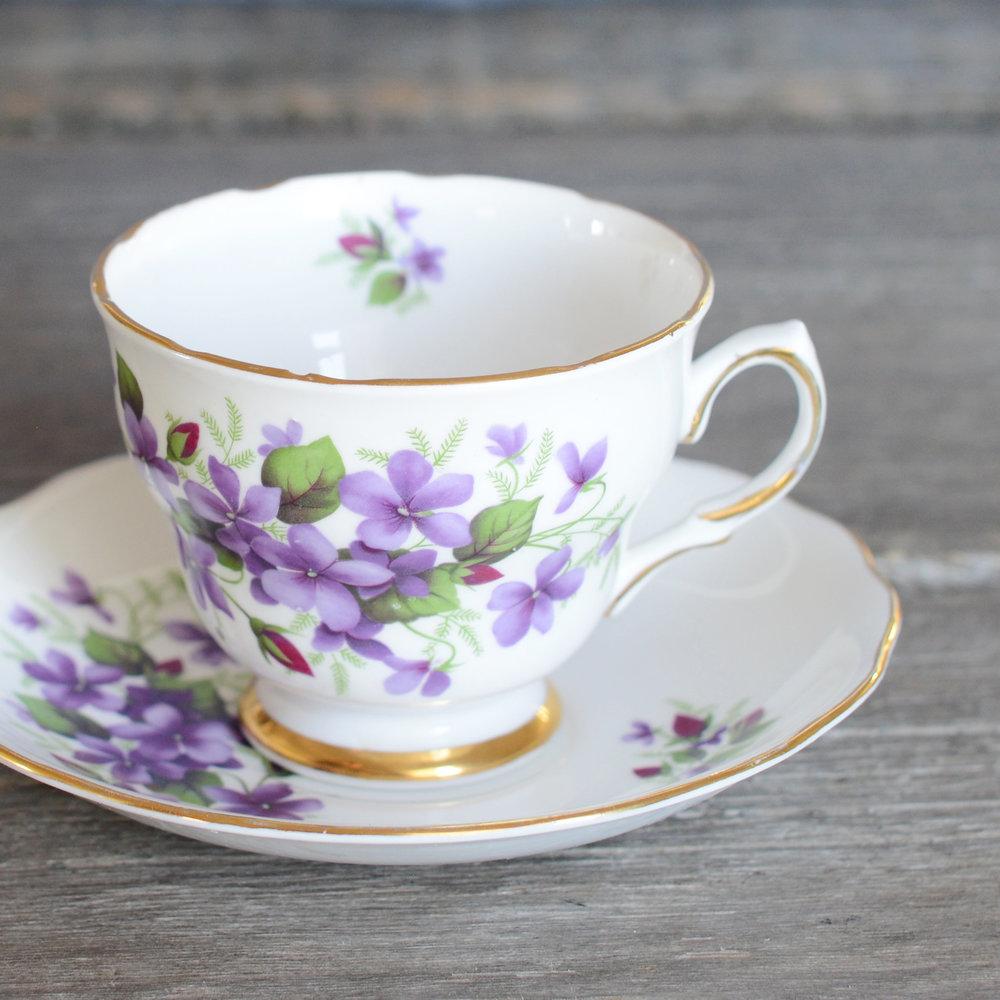 pascoe tea cup and saucer