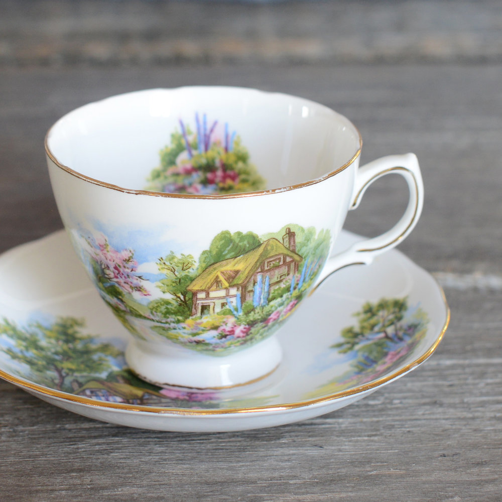 summersgill tea cup and saucer