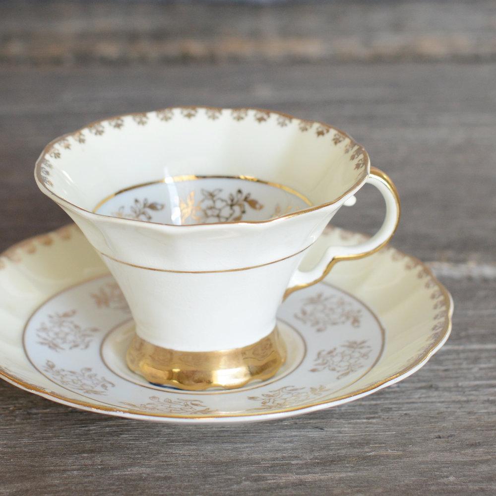 taylor tea cup and saucer