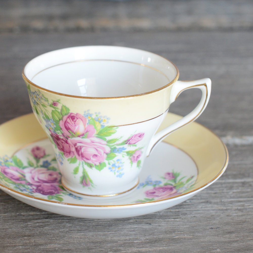 wright tea cup and saucer