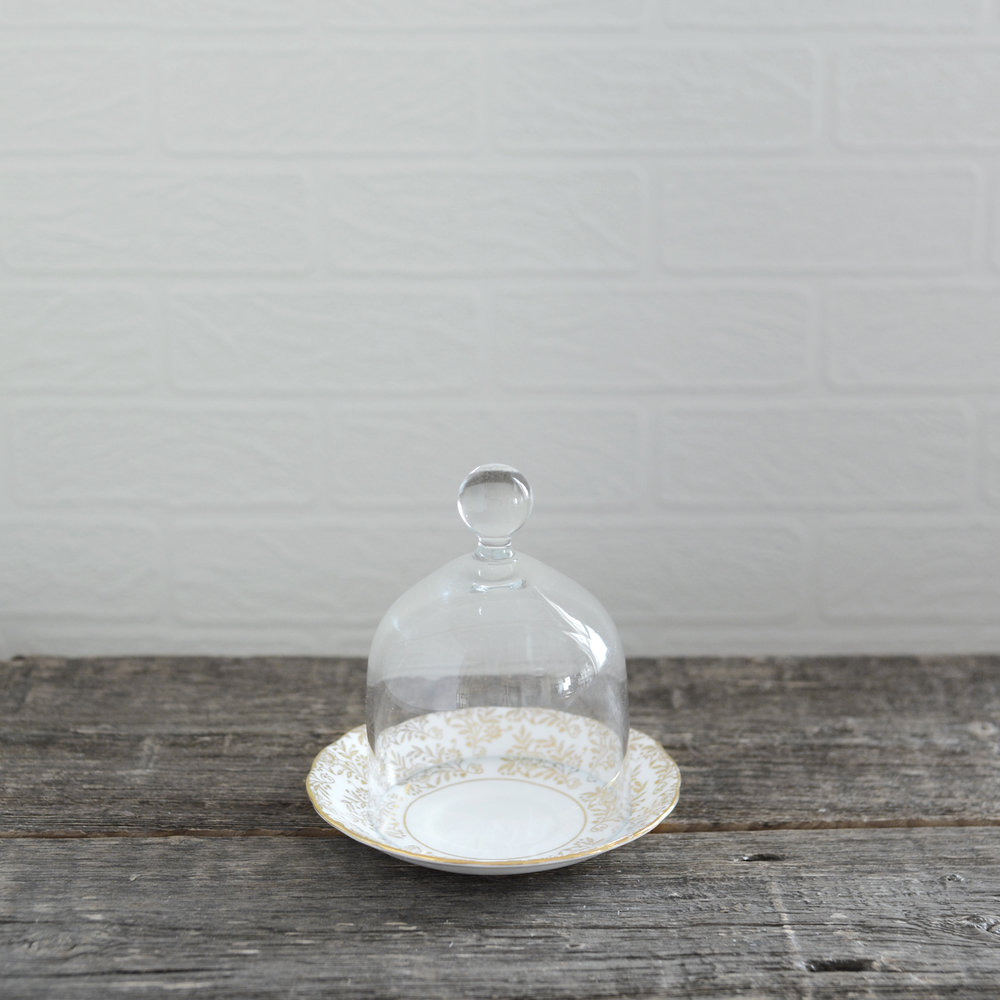 "bellemore cloche - 4"" x 5.5"" - 2 available"