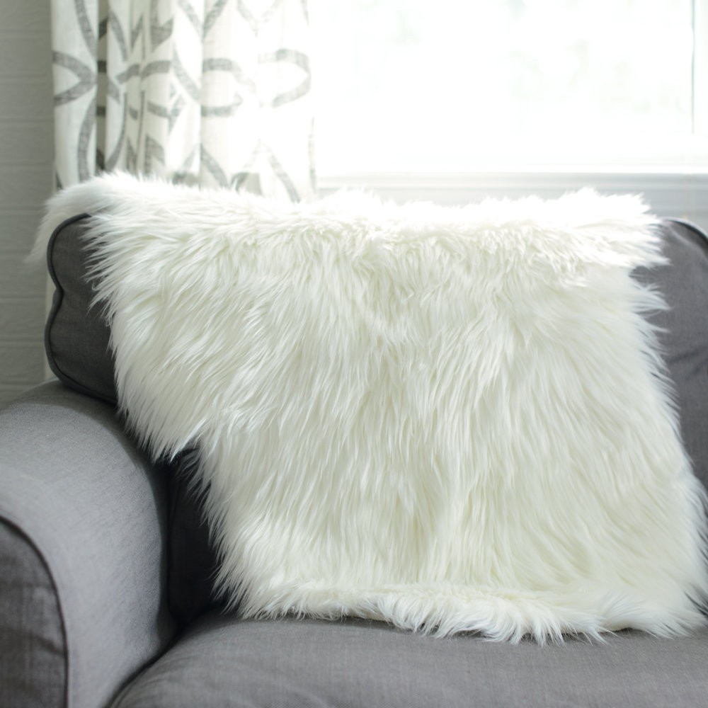 white faux fur - 4 available