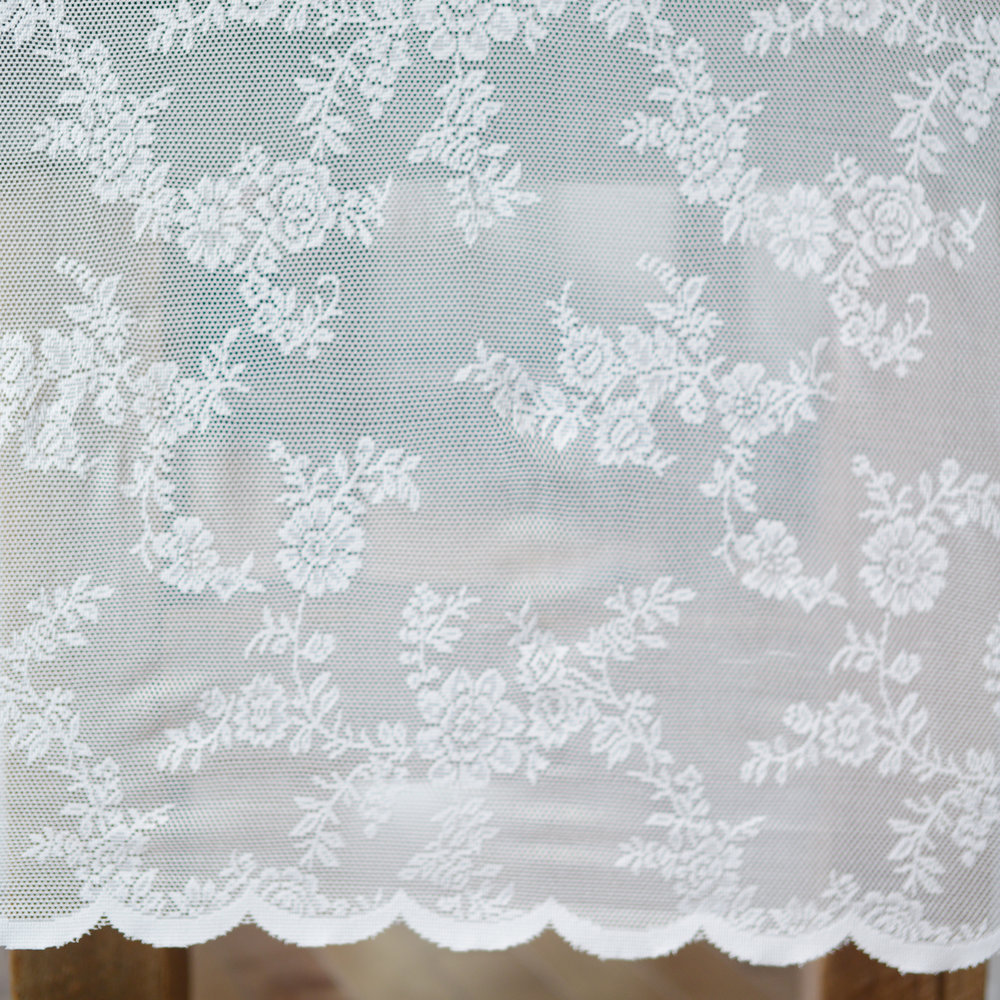 scalloped lace overlay - 12 available