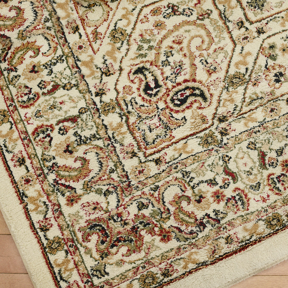 8x11 olive/beige area rug