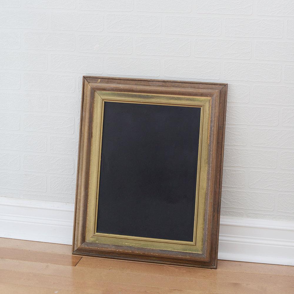 "12"" x 16"" telly chalkboard"