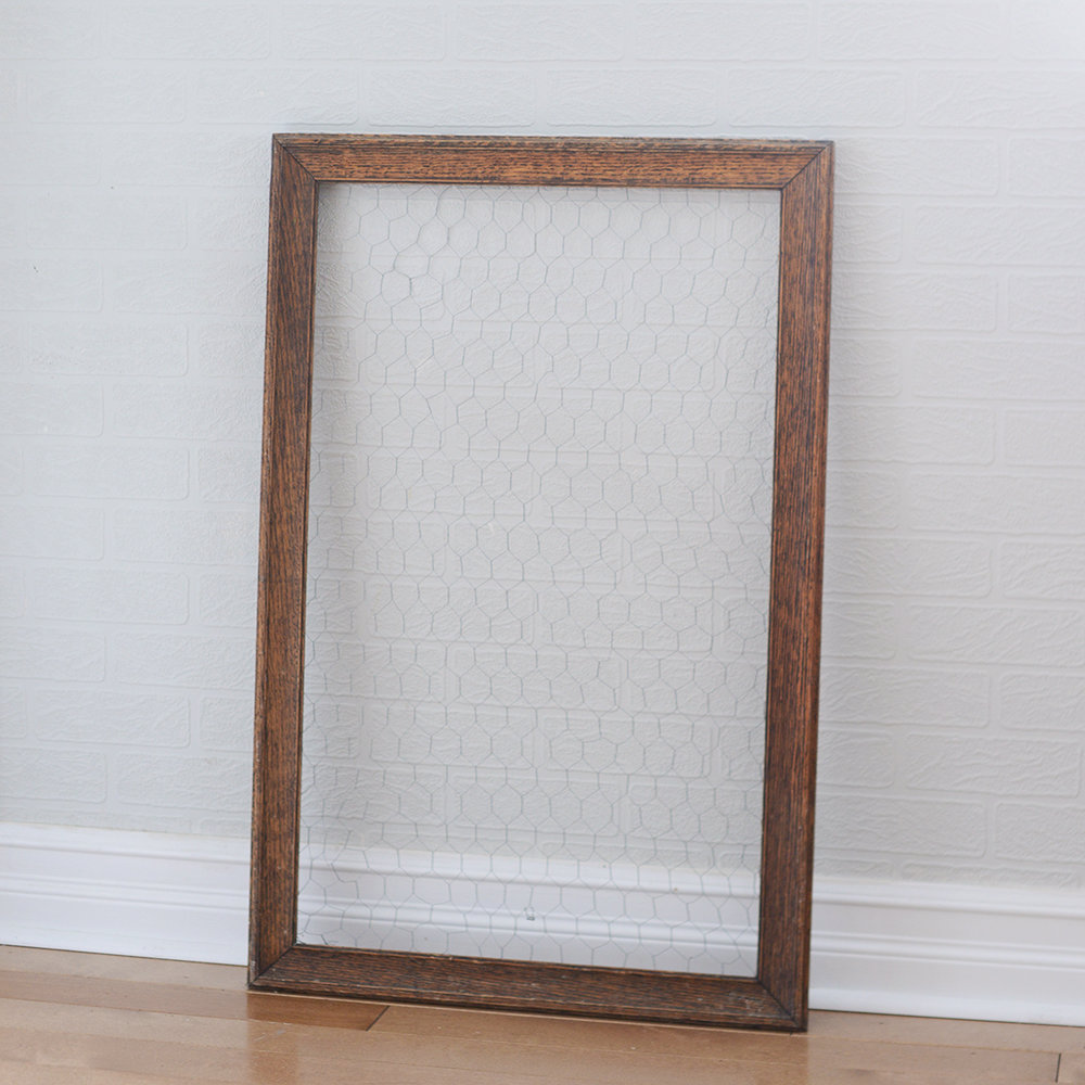 """18"""" x 30"""" bess frame with wire"""