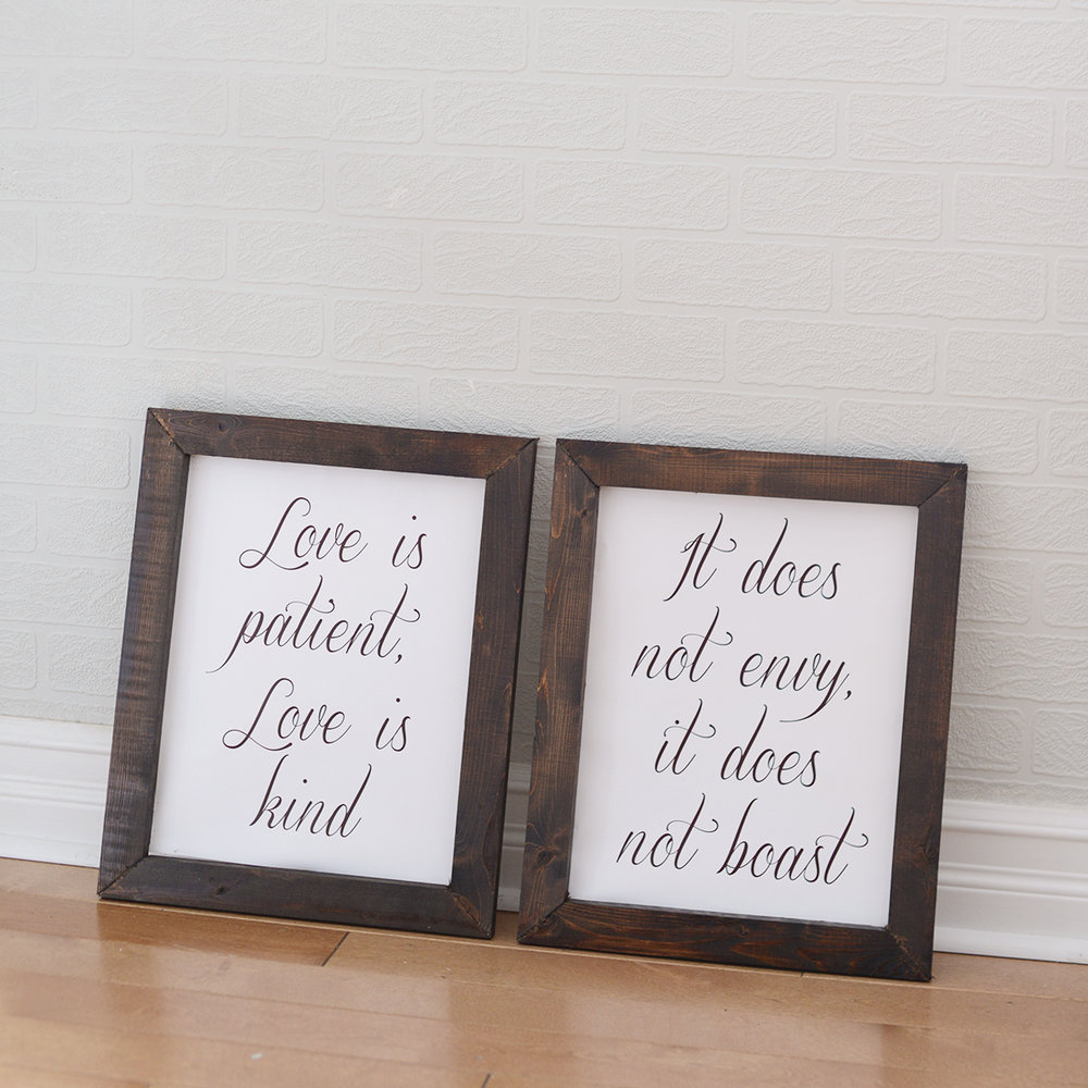 "11"" x 14"" ira frames - 8 available"