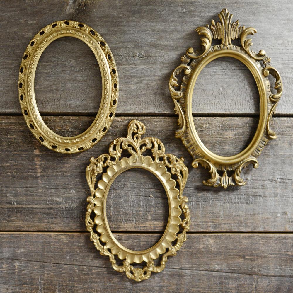 assorted ornate frames