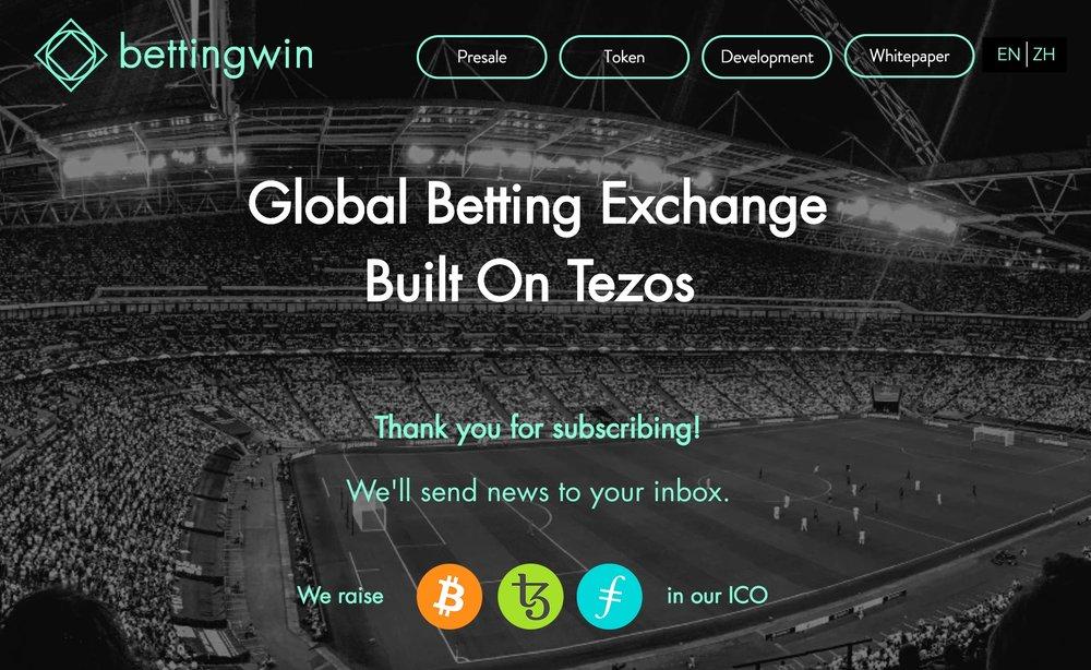 Betting Exchange dApp