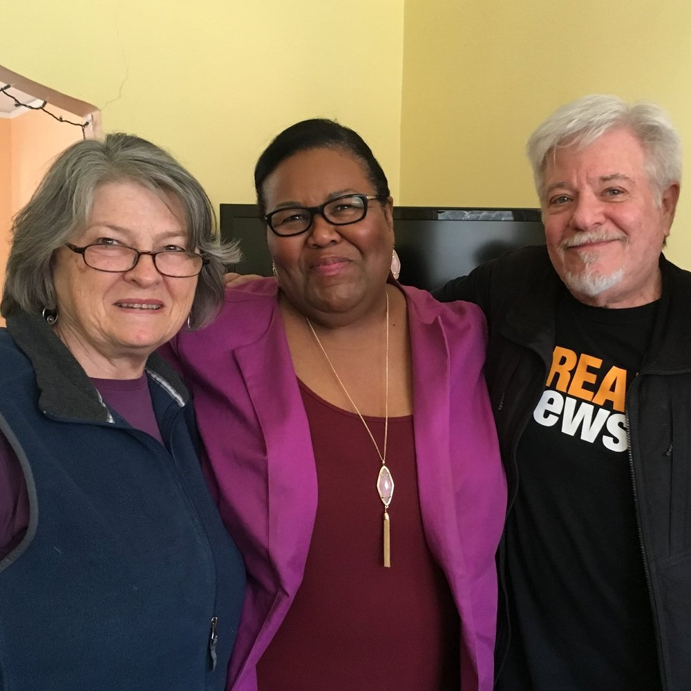 Joyce Brody, Sheilah Garland and Lenny Brody.