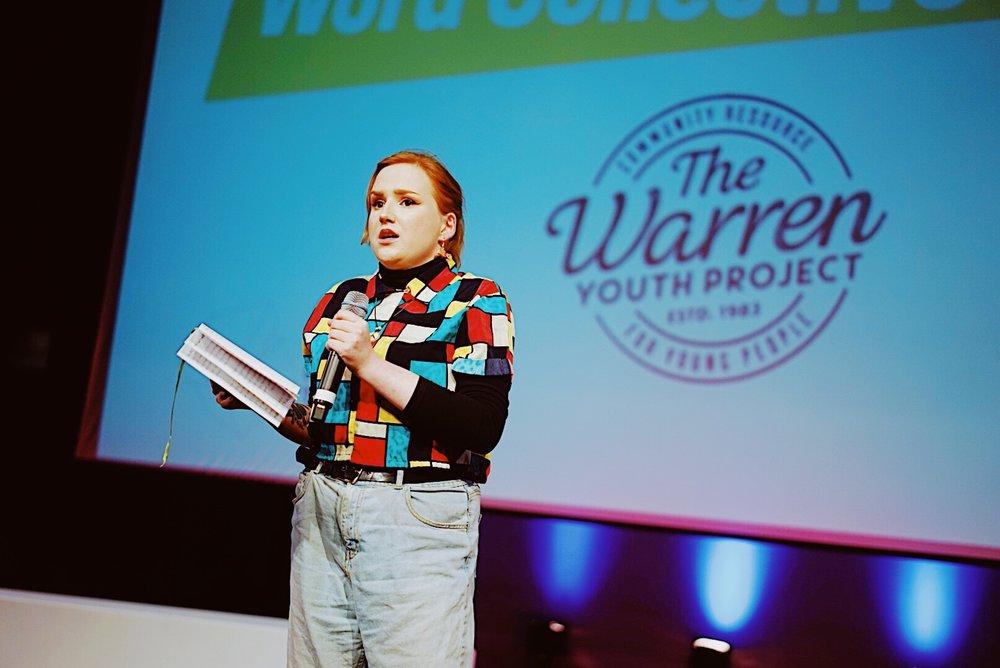 Jodie Langford, The Warren Spoken Word Collective