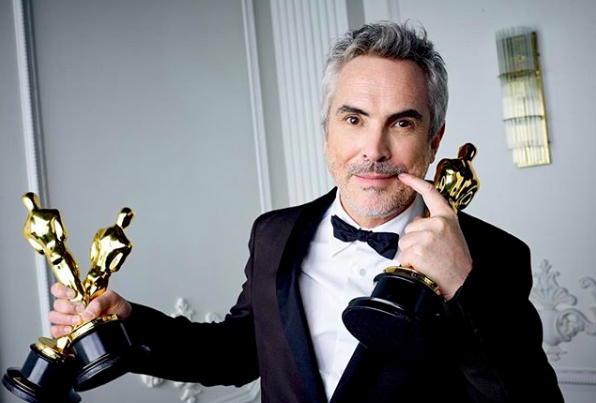 Alfonso Cuarón. Source: Instagram