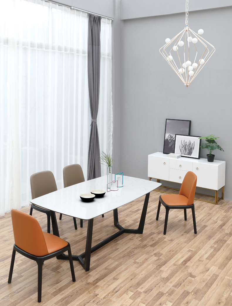 Luanda dining table modern and contemporary home furniture store toronto rk royal design furniture