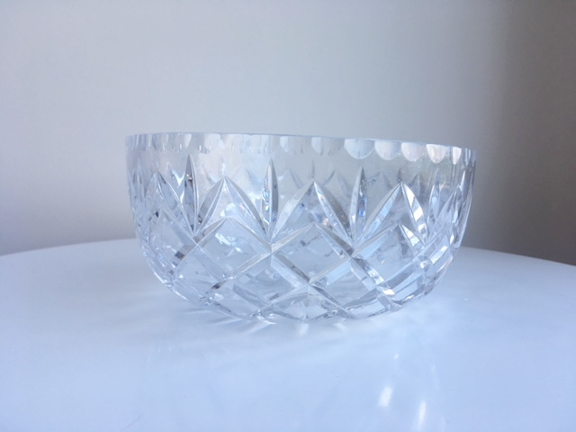 Large Crystal Bowls