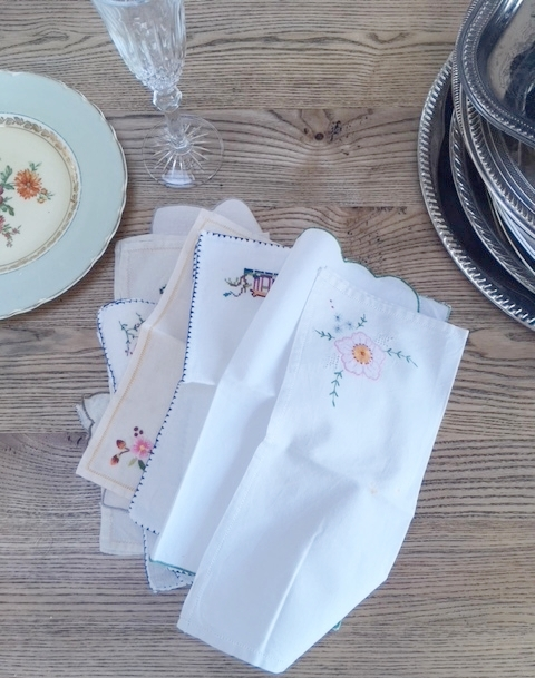 Vintage Napkins - 50+ available