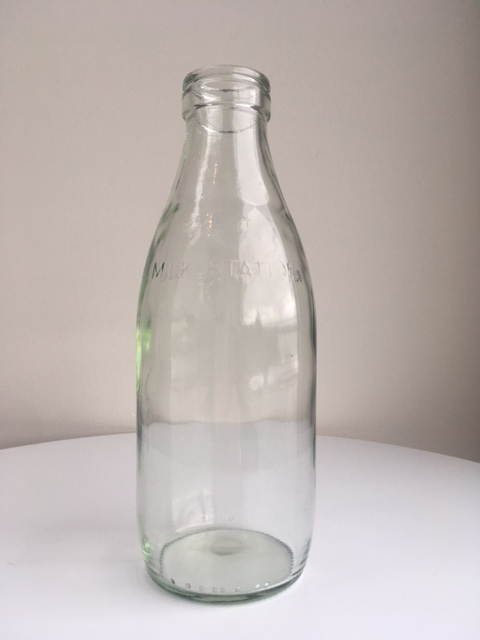 Old School Milk Bottle