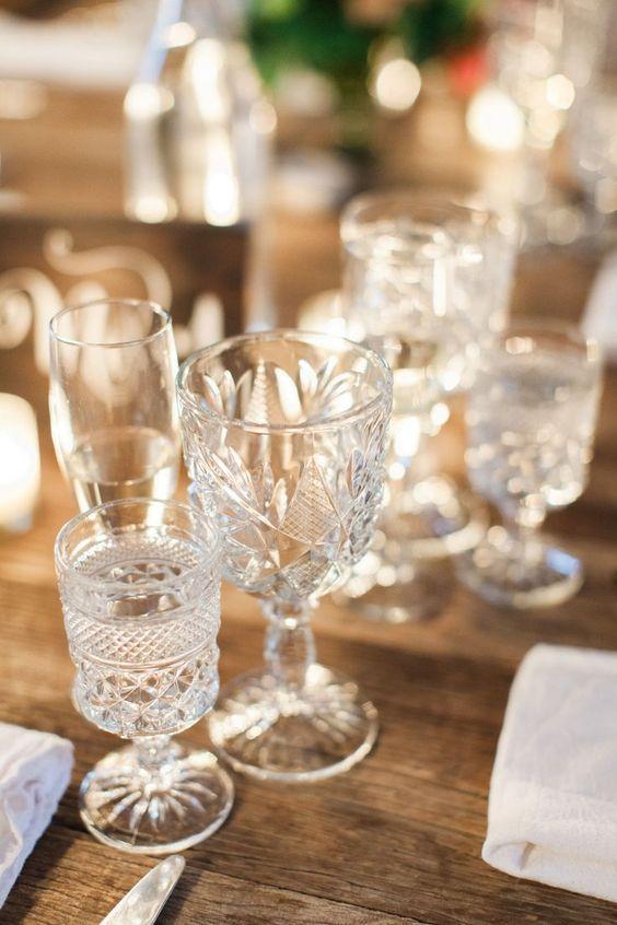 glassware - Drinkies - Champagne, Cocktails, Vintage