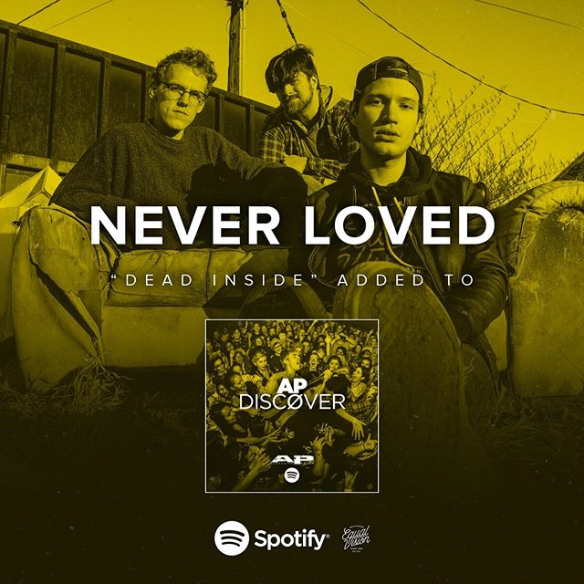 "Much love to @altpress for including ""Dead Inside"" on their @spotify discover playlist ☠️🖤 be sure to check out all of the other bops on there ⚡️"